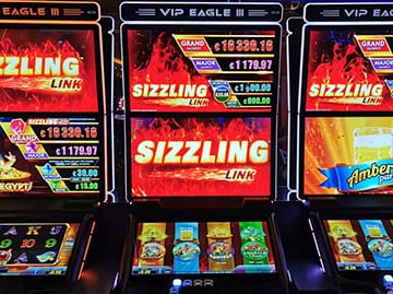 VIP Eagle 3 mit Sizzeling Link Jackpot